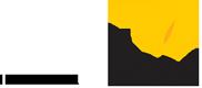 Logotipo do Instituto Alana, com borboleta amarela.