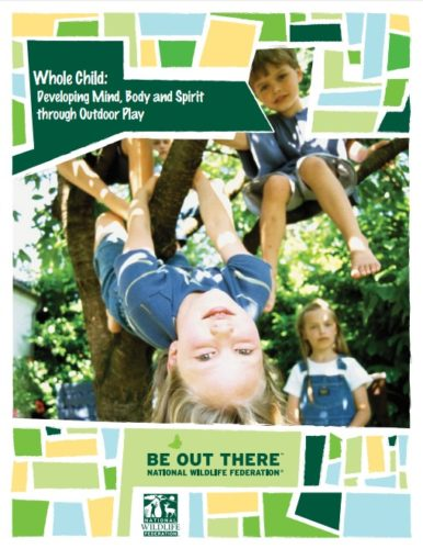 Geral 1 - Whole Child developing mind body and spirit through outdoor play