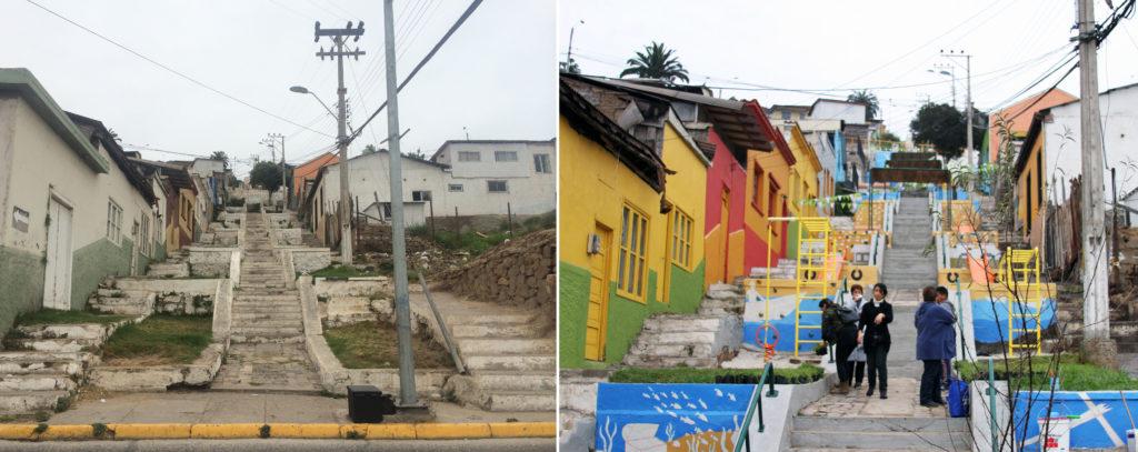 9_Escalera Buenaventura Argandoña_Antes y Después_Durante la construcción