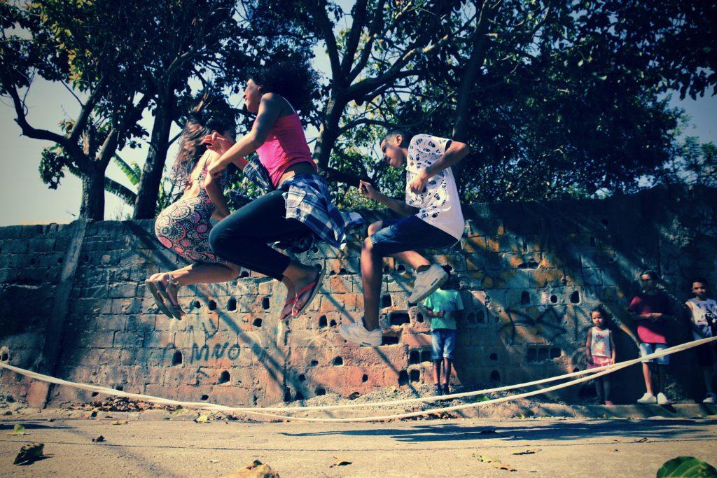 pulando corda