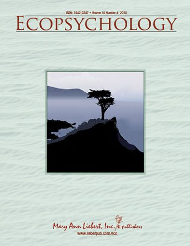 capa ecopsychology