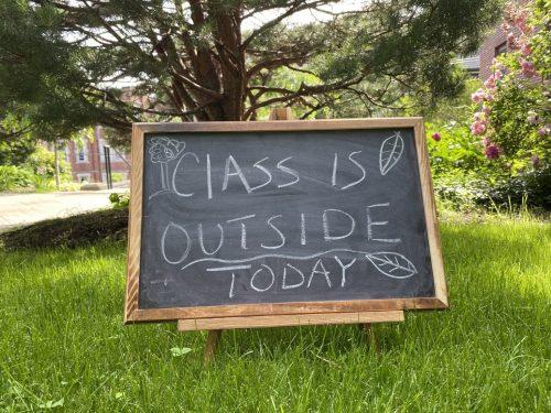 class outside