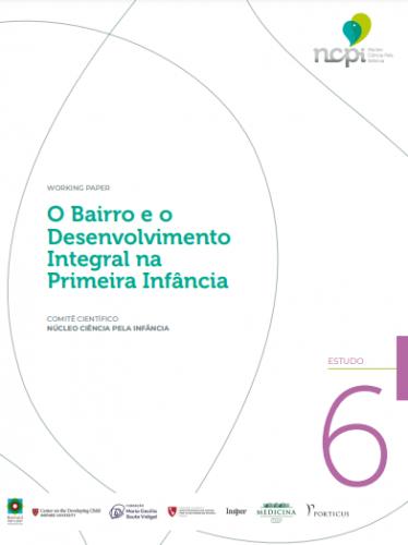 Página branca com o logo do NCPI - Núcleo Ciência pela Infância, no canto superior direito. No centro está escrito